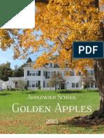 Applewild School Golden Apples 2013