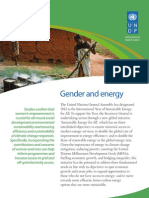 Gender and Climate Change - Africa -  Policy Brief 3