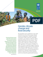 Gender and Climate Change - Africa -  Policy Brief 4