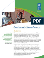 Gender and Climate Change - Africa -  Policy Brief 5