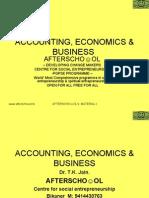 ACCOUNTING ECONOMICS AND BUSINESS 13 NOV