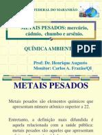 AULA 02  Química das águas -Metais pesados-  parte II.ppt