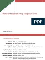 Capability Presentation of Manpower