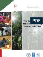 The Business Case for Mainstreaming Gender in REDD+ - November 2011
