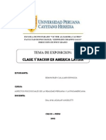 Clase y Nacion en America Latina