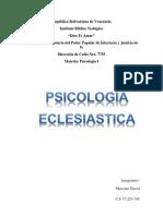 psicología eclesiatica