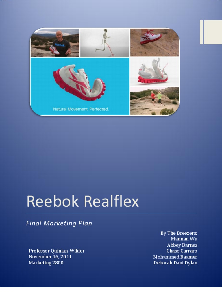 42a61f8a5c1bb6 Reebok - Marketing Plan