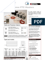 Anticondense PTC Heaters