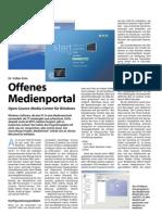 MediaPortal - Offenes Medienportal