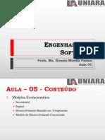 Engenharia de Software Aula5