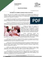 21/02/12 Germán Tenorio Vasconcelos ENCABEZA GTV PRIMERA AUDIENCIA PÚBLICA EN SALUD