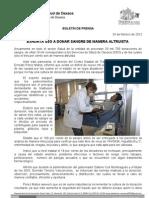 24/02/12 Germán Tenorio Vasconcelos exhorta Sso a Donar Sangre de Manera Altruista