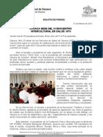 27/02/12 Germán Tenorio Vasconcelos Oaxaca Sede Del IV Encuentro Intercultural en Salud