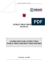 EU Public Procurement Manual 2013