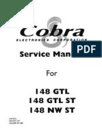 Cobra 148GTL Service Manual