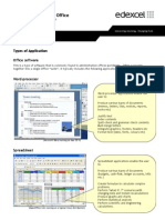 Factsheet Selection of Office Software