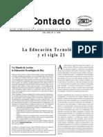 La Educación Tecnológica y el siglo XXI_UNESCO_1999