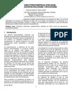 INF - Valoraciones potenciométricas ácido-base