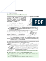 Apuntes de integrales múltiples y de línea