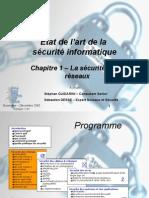1_Etat de l'art de la sécurité informatique  - Sécurité des réseaux - V 1.01