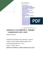 ARMONIA COLORISTICA