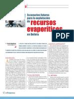 Escenarios Futuros Para La Explotacion de Recursos Evaporiticos en Bolivia