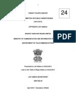 Copu Bsnl Report 2013