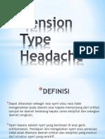 Tension Type Headache Theory.pptx