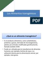 2013 Los Alimentos Transgenicos