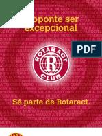 Tarjeta Promocional Sobre Rotaract
