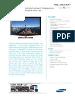 Samsung Ln46b650 Spec Sheet