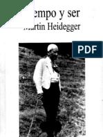 Heidegger Martin Tiempo y Ser (Tecnos)