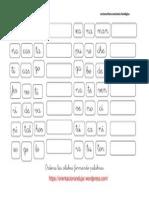 Conciencia Fonologica de Palabras 4