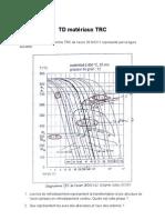 TD matériaux TRC