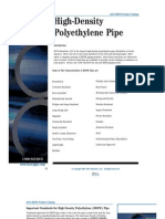 ISCO HDPE Product Catalog-HDPE Pipe