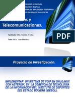 Red de Datos y Telecomunicaciones