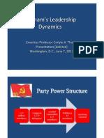 Thayer Vietnam's Leadership Dynamics
