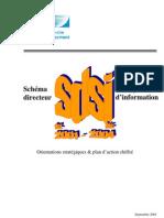 Schéma directeur des systemes d'information