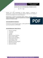 Analisis Sistematico de Los Cationes Del Primer Grupo