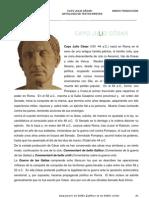 Antologia de Textos Breves de Las Obras de Cesar