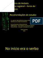 Livros de Registro - impactos da tecnologia - Sérgio Jacomino