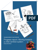 Progress Report - Moving Towards a Child Centred System