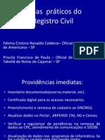 Registro Civil - temas práticos