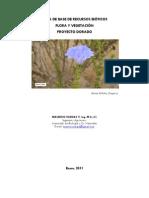 Linea de Base de Flora Proyecto Dorado
