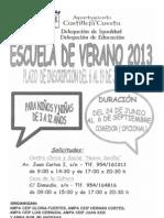 Escuela de Verano 2013