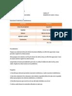 guia de laboratorio Reacciones Exotérmicas y endotérmicas.