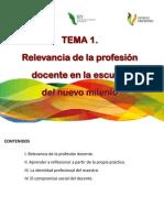Tema 1_Relevancia Profesión Docente