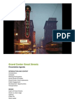 Grand Center Inc. Great Streets Presentation - May 9, 2013
