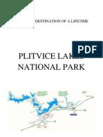 CROATIAN DESTINATION OF A LIFETIME Plitvička jezera