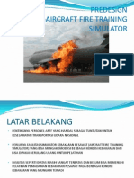 Aircraft Fire Training Simulator